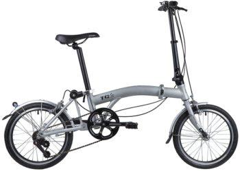 """117051 2 350x250 - Велосипед NOVATRACK 16"""" TG-16 alloy 3,3 складной алюминиевый, рама в 2 сложения, 3 ск,, рама - 10"""""""