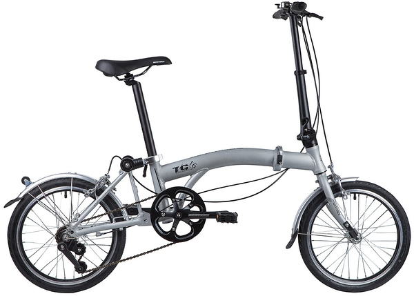 """117051 2 - Велосипед NOVATRACK 16"""" TG-16 alloy 3,3 складной алюминиевый, рама в 2 сложения, 3 ск,, рама - 10"""""""