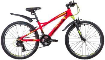 "133963 2 350x201 - Велосипед NOVATRACK 24"" TORNADO 21,V, алюм,рама 13"", красный, 21-скор, TY300/TS38/TZ500, V-brake алюм,, рама - 13"""