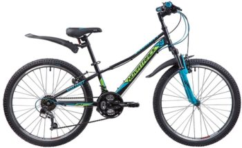 "133984 2 350x214 - Велосипед NOVATRACK 24"" VALIANT 18,V, сталь,рама 12"", чёрный, 18-скор, TY21/TS38/SG-6SI, V-brake, рама - 12"""