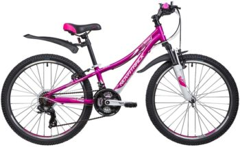 "133999 2 350x215 - Велосипед NOVATRACK 24"" KATRINA 21,V, алюм,рама 10"", фиолетовый, 21-скор, TY300/TS38/TZ500,V-brake, рама - 10"""
