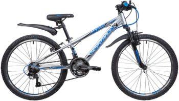 "134014 2 350x197 - Велосипед NOVATRACK 24"" LUMEN 18,V, алюм,рама 11"", серебристый, 18-скор, TY21/TS38/SG-6SI, V-brake, рама - 11"""