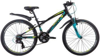 "135375 2 350x198 - Велосипед NOVATRACK 24"" TORNADO 21,V, алюм,рама 13"", чёрный, 21-скор, TY300/TS38/TZ500, V-brake алюм,, рама - 13"""