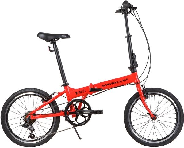 """139207 2 - Велосипед NOVATRACK 20"""" TG-20 alloy 3,6 складн, алюм, Shimano 6 speed , стальная вилка, вынос склад, #139207, рама - 12,5"""""""