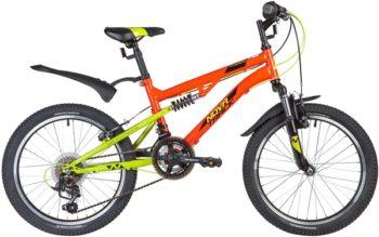 """139729 2 350x219 - Велосипед NOVATRACK 20"""" TITANIUM 12,V, красный, сталь, 12 скор,, SHIMANO, V-Brake, рама - 15"""""""