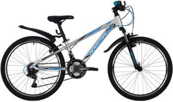 "139754 2 350x206 - Велосипед NOVATRACK 24"" LUMEN 18,V, алюм,рама 11"", серебристый, 18 скор,, SHIMANO, V-brake, рама - 11"""