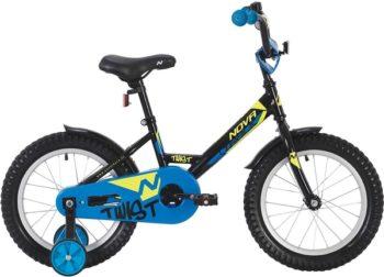 """140632 2 350x252 - Велосипед NOVATRACK 12"""" TWIST чёрный, тормоз нож,, корот,крылья, полная защита цепи, рама - 8,5"""""""