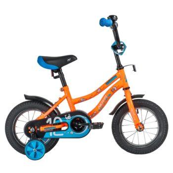 "140636 2 350x350 - Велосипед NOVATRACK 12"" NEPTUNE оранжевый, полная защита цепи, тормоз нож,, корот крылья, нет багажн, рама - 8,5"""