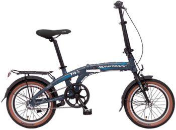 """140681 2 350x259 - Велосипед NOVATRACK 16"""" TG-16 alloy 3,3 складной алюм, Nexus 3 speed (алюм пер,вилка, алюминиевый вынос), рама - 10"""""""