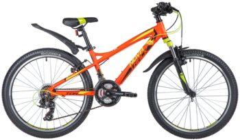 "140695 2 350x204 - Велосипед NOVATRACK 24"" TORNADO 21,V алюм,рама 13"", красный, 21-скор, TY300/TS38/TZ500, V-brake алюм,, рама - 13"""