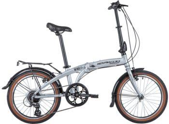 "141392 2 350x256 - Велосипед NOVATRACK 20"" TG-20 alloy 3,8 складн, алюм,, серебр,, 8 скор,, RDM310/TS71/HG20,  V-brake, рама - 12,5"""