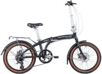 "141393 2 350x256 - Велосипед NOVATRACK 20"" TG-20 alloy 3,8D складн, алюм,, чёрный, 8 скор,, RDM310/TS71/HG20,  диск,торм,STG, рама - 12,5"""